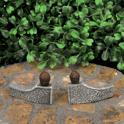 Fairy Garden Mini - Micro Mini Acorn Gateway - Set of 2