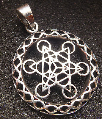 David Star Pendant 925 Sterling Silver 4.22g
