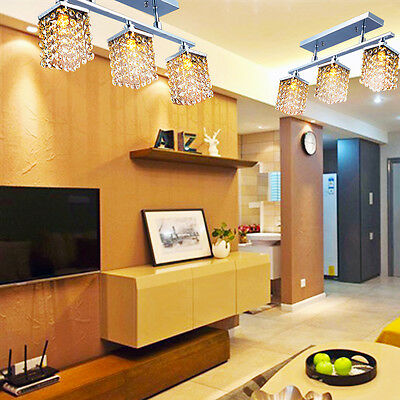 Living/Bedroom Crystal Ambient Fixture Chandelier Ceiling Light Lamp Pendant
