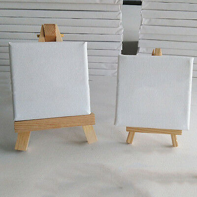 10*10/15*15CM Artist Stretched Canvas Square Art Board Acrylic Oil Paint 1PC