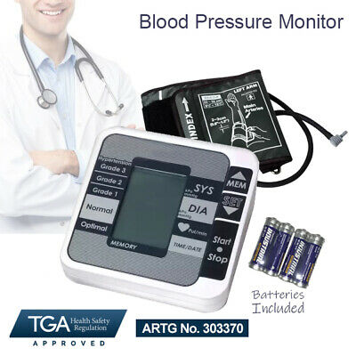 Digital Blood Pressure Monitor Automatic Upper Arm Brand New Free Post