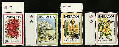 Barbados   1984   Scott #636-639   MNH Set