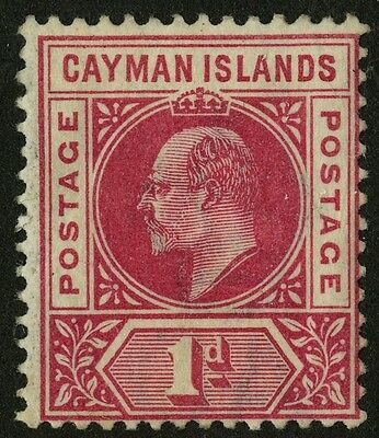 Cayman Islands   1905    Scott # 4   Mint Lightly Hinged