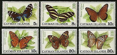 Cayman Islands   1977   Scott # 386-391   Mint Never Hinged Set