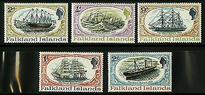 Falkland Islands  1970   Scott #192-196   Mint Never Hinged Set