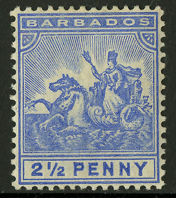 Barbados  1904-10   Scott #96    MLH