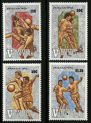 Virgin Islands   1990   Scott #678-681   MNH Set