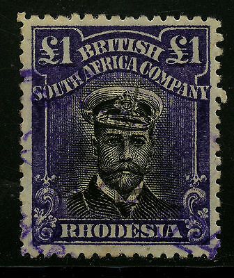 Rhodesia  1913-23   Scott #138a    USED