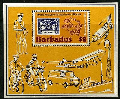 Barbados   1984   Scott #631    Mint Never Hinged Souvenir Sheet