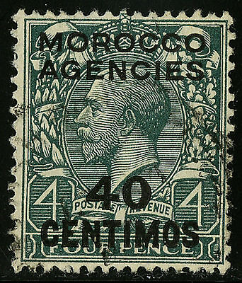 Morocco Agencies 1917-23   Scott #59   USED
