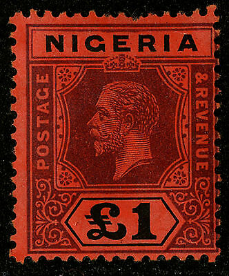 Nigeria  1914-27   Scott #12    Mint Lightly Hinged