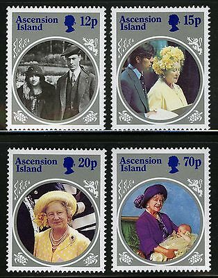 Ascension  1985   Scott # 372-375  MNH Set
