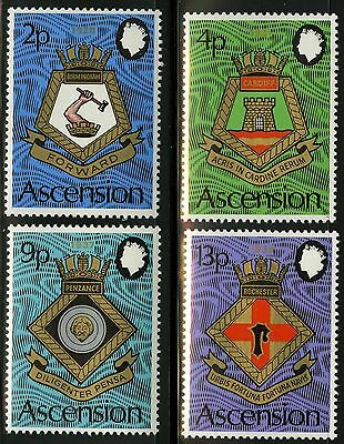 Ascension  1973   Scott # 166-169  MNH Set