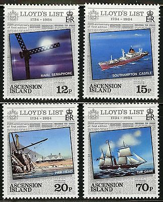 Ascension  1984   Scott # 351-354  MNH Set