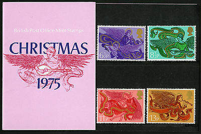 Great Britain   1975   Scott # 758-761   MNH Presentation Pack