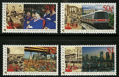 Singapore   1994   Scott # 699-702   MNH Set
