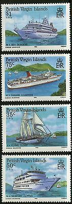 Virgin Islands   1986   Scott #524-527   MNH Set