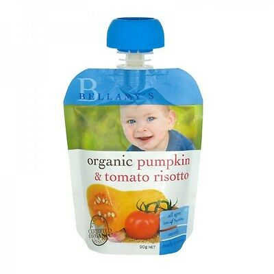 Bellamy's Organic Pumpkin & Tomato Risotto Baby Food 90g