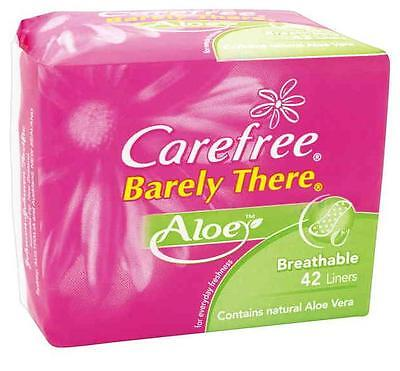 Carefree Liners Barely There Aloe X 42