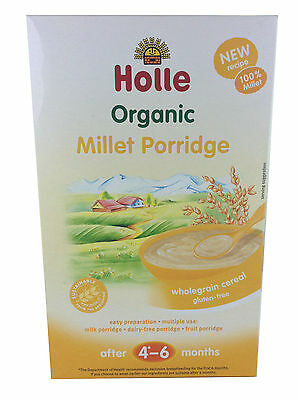 New 250g Holle Organic Millet Porridge With Wholegrain Cereal for 4-6 Months