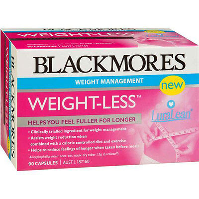 90 Capsules Blackmores Weight Loss Management Appetite Hunger Control Women