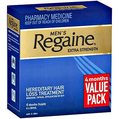 New 60ml Regaine Hair Loss Treatment For Men Extra Strength Topical Minoxidil