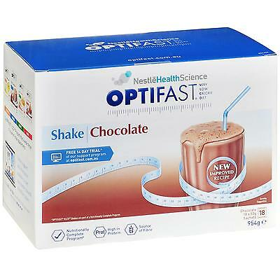 Optifast VLCD Milk Shake (Chocolate) 53g X 18