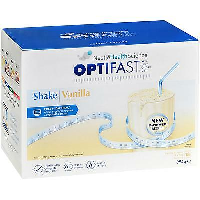 Optifast VLCD Milk Shake (Vanilla) 53g X 18