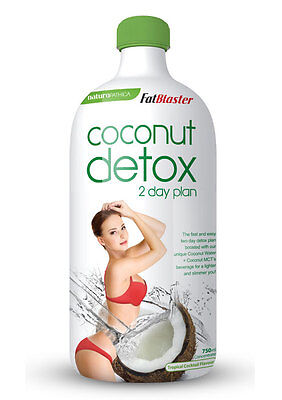 New 750ml FatBlaster Coconut Detox Weight Loss Drink Mix 2 Day Plan Concentrate