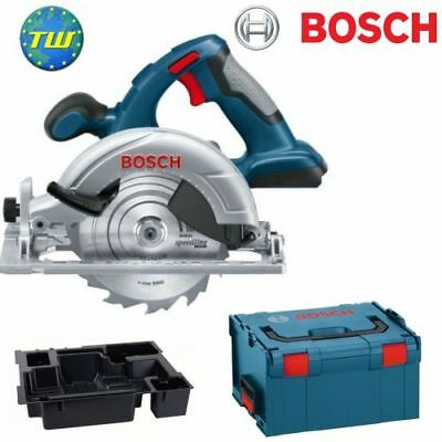 Bosch GKS18V-LIN 18V Circular Saw Body Only with Size 3 LBoxx and Blade