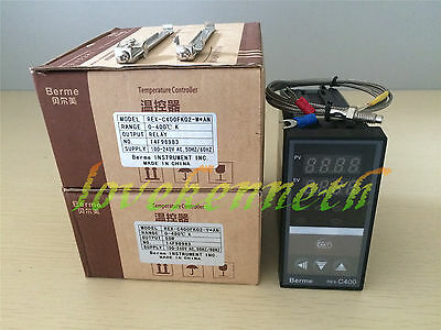 PID Temperature Controller REX-C400 SSR/Relay Output + K Type Thermocouple