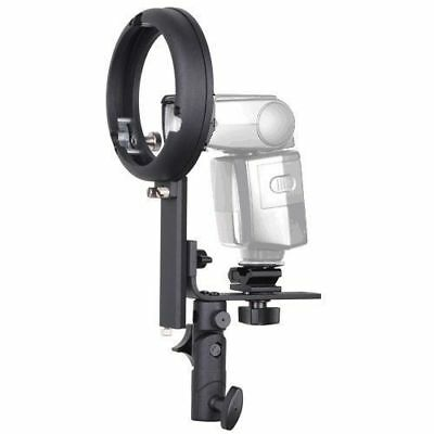 Phot-R L Bowens S-Type Mount Flash Bracket Adapter Hot Speedlite for Canon Nikon