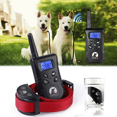 AU SHIP NEW RECHARGEABLE No Barking Anti Bark Training Spray Collar Dog REFILL