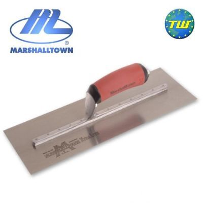 """Marshalltown 13"""" x 5"""" Finishing Trowel with Durasoft Handle Carbon Steel MXS13D"""