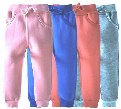 Boys/Girls Toddlers Jogging Sweat Pants Trouser Elasticated Waist,3 6 12 18 mths