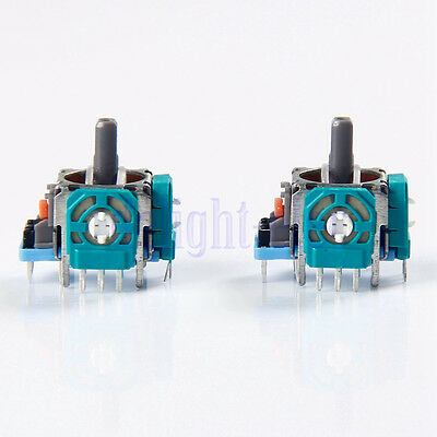 2X Analog Controller Part Replacement 3D Joystick for PS4 Wireless Controller DG