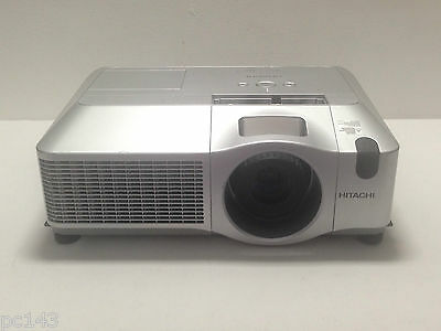 HITACHI CP-X505 LCD PROJECTOR USED 829h LAMP HOURS MULTIMEDIA   REF:528