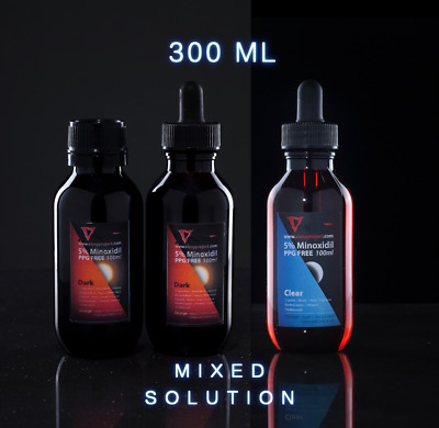 PPG-Free Minoxidil 5% with MSM, Biotin and L-lysine for effective hair regrowth