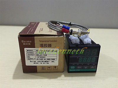 PID Temperature Controller REX-CH102 SSR/Relay Output + K type thermocouple