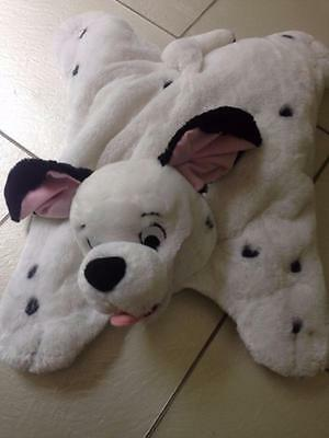 "Disney 101 Dalmatians Soft Toy Plush Cushion Pyjama Holder  20"" VGC g2"
