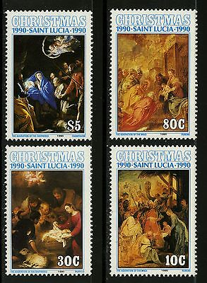 St Lucia   1990   Scott # 972-975 Mint Never Hinged Set