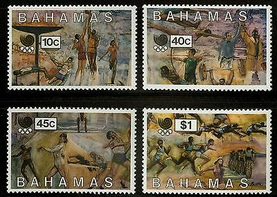 Bahamas   1988   Scott # 651-654   MNH Set