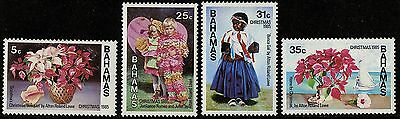 Bahamas   1985   Scott # 588-591   MLH Set