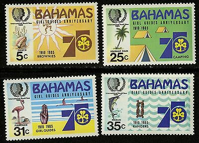 Bahamas   1985   Scott # 572-575   MNH Set