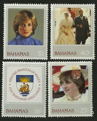 Bahamas   1982   Scott # 510-513   MNH - MLH Set