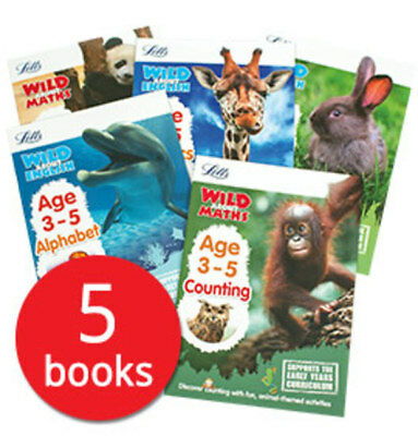 Letts Wild About: Ages 3-5 Collection - 5 Books