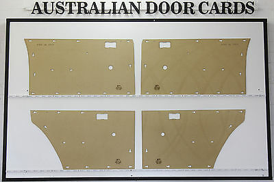 Ford XA, XB Falcon, Fairmont  Door Cards. Blank Trim Panels. 500 Sedan, Wagon.