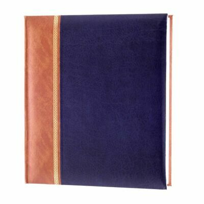 Grace Blue 7x5 Slip In Photo Album - 200 Photos