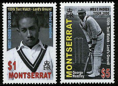 Montserrat   2000   Scott #1000-1001   Mint Never Hinged Set