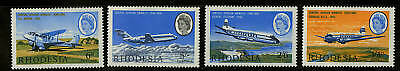 Rhodesia  1966  Scott #241-244  MLH Set